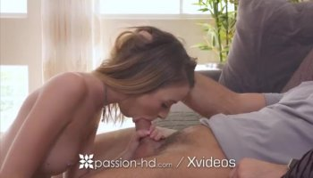 Black guy plunges hard dick deep inside blonde's tight asshole