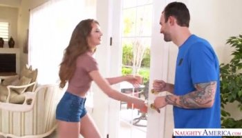 Brunette cutie Cindy Jays gets anally punished by her angry boyfriend