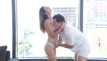 Handsome girlfriend bangs with her boyfriend like a pro POV